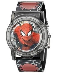 Marvel Spider-Man Kids\' SPD3500SR Digital Display Analog Qua...