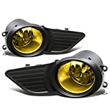 Toyota Sienna Pair of Driving Bumper Fog Lights + Bezel Covers (Amber Lens)