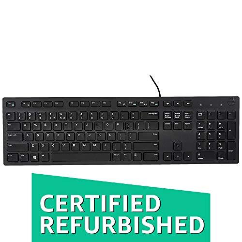 Dell Wired Keyboard KB216 (580-ADMT) (Renewed)