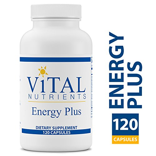 Vital Nutrients - Energy Plus - Non-Stimulatory Herbal Energy Support - 120 Capsules