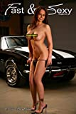 Nude Model with 1967 Camaro SS Poster (12x18 inches)