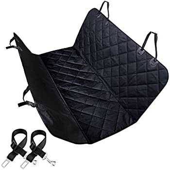 404bf712c708 URPOWER Pet Seat Cover Car Seat Cover for Pets - Scratch Proof & Nonslip  Backing & Hammock, Quilted, Padded, Durable Pet Seat Covers for Cars Trucks  and ...