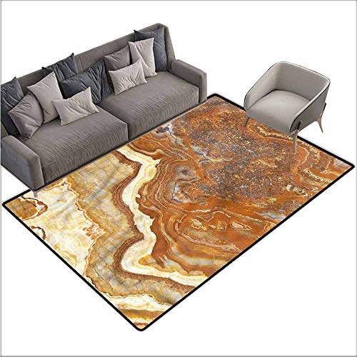 Dining Table Rugs Marble,Natural Travertine Facet 60