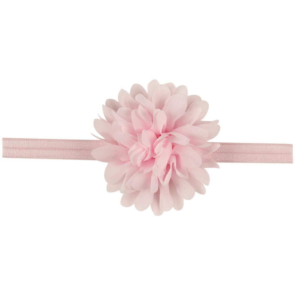 Rose Cheveux Faits Main Wrap Floral Fleurs Couronne Bandeau D/écoration pour Nouveau-N/és B/éb/és Enfants