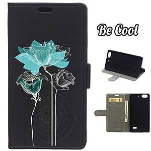 BeCool® - Funda carcasa tipo Libro para Huawei G Play Mini protege tu Smartphone ya que se adapta a la perfección, tiene Función Soporte, ranuras para tus tarjetas y billetes sin olvidar nuestro exclusivo diseño