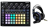 Novation CIRCUIT Groove Box Music Controller Pad/Drum Machine+Monitor Headphones