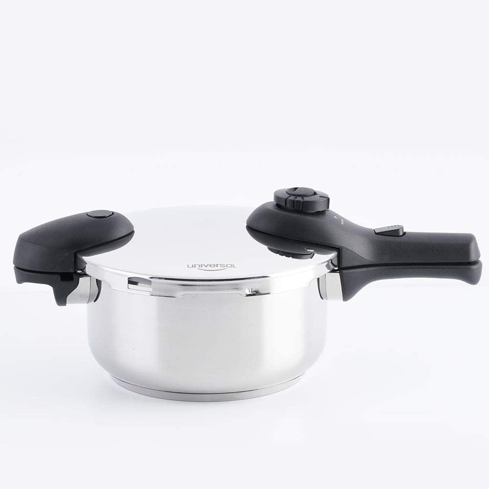Universal Stainless Steel Fast Pressure Cooker 4 Liters