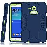 Galaxy Tab 3 Lite 7.0 Case,Galaxy Tab E Lite 7.0 Case, UHKZ Slim Hard Shockproof Protective Cover Case for Samsung Galaxy Tab 3 Lite 7.0/Tab E Lite, SM-T110 / SM-T111 / SM-T113 / SM-T116, Dark Blue