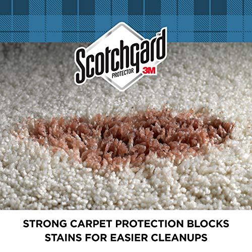 Scotchgard Rug & Carpet Protector, Makes Cleanup Easier, Simple Application, 84 Ounces Total (Six, 14 Ounce Cans)
