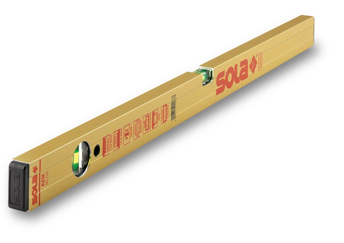 Gold Sola AZM 100 Spirit Level of Aluminium Magnetic 100 cm
