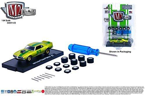 (M2 Machines 1968 Pontiac Firebird 400 H.O. Auto-Wheels Release 3 2015 Castline Premium Edition 1:64 Scale Die-Cast Vehicle Kit ( R03 15-13 ))
