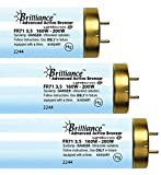 Brilliance Advanced Euro Active Bronzer FR71 VHO 160W-200W Bi Pin Reflector Tanning Lamp (48)