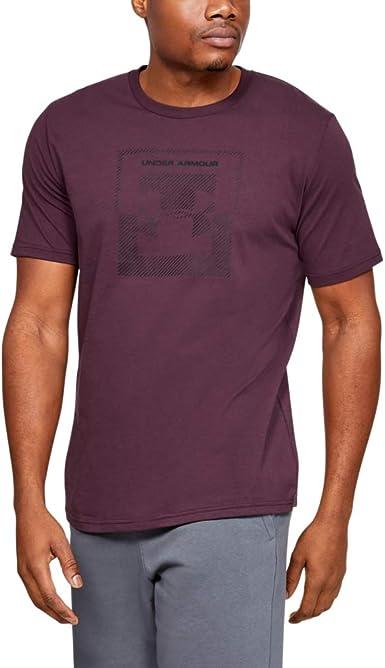 Under Armour Inverse Box Logo - Camisa Manga Corta Hombre: Amazon.es: Ropa y accesorios