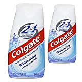 Colgate 2 In 1 Toothpaste & Mouthwash Whitening, 4.6 oz (2-Pack)