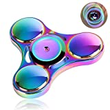 Wiitin Fidget Spinner Toy , Tri Hand Spinner Low Noise High Speed Focus Toy with Stainless Steel Bearing