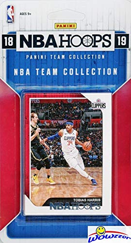 Los Angeles Clippers 2018/2019 Panini Hoops NBA Basketball EXCLUSIVE Factory Sealed Limited Edition 10 Card Team Set with Danilo Gallinari, Lou Williams, Shai Gilgeous-Alexander RC & More! WOWZZER!