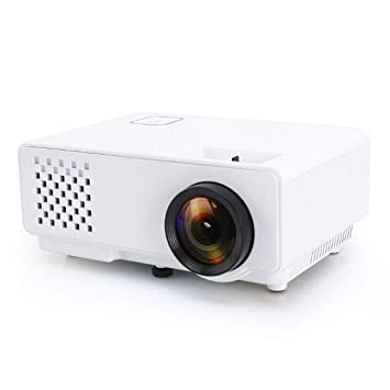 Mini proyector Sunzimeng RD-810 800 * 768 1200 lúmenes Mini ...