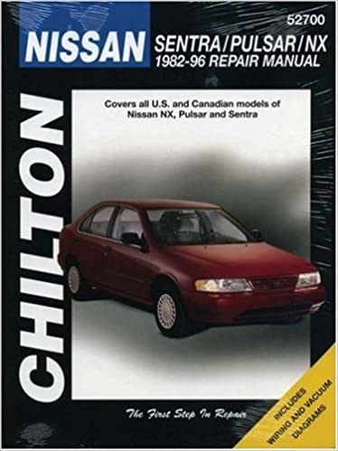 Nissan sentra pulsar and nx 1982 96 chilton total car care nissan sentra pulsar and nx 1982 96 chilton total car care series manuals 1st edition sciox Image collections