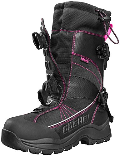 Castle X Barrier 2 Womens Snowmobile Boot Magenta 8