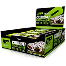 Musclepharm Combat Crunch Protein Bars, Chocolate Coconut, 12-Count