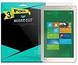 Toshiba Encore 2 Write 8 Screen Protector [3-Pack], Klear Cut High Definition Matte Screen Protector for Toshiba Encore 2 Write 8 PET Film Anti-Glare and Anti-Bubble Shield