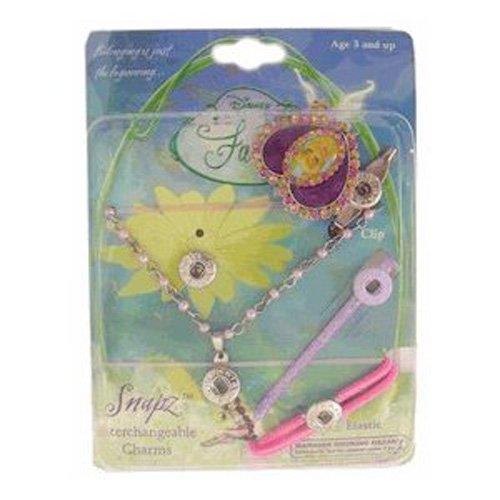 Purple Heart Tinkerbell Hair Charm - Tinkerbell Hair Accessories