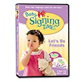 Baby Signing Time Vol. 4: Let's Be Friends - DVD with Music Cd
