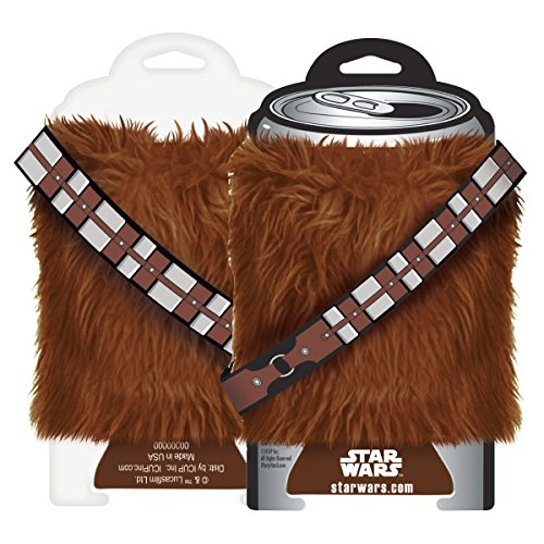 ICUP Star Wars Chewbacca Fur Cool Cup Holder
