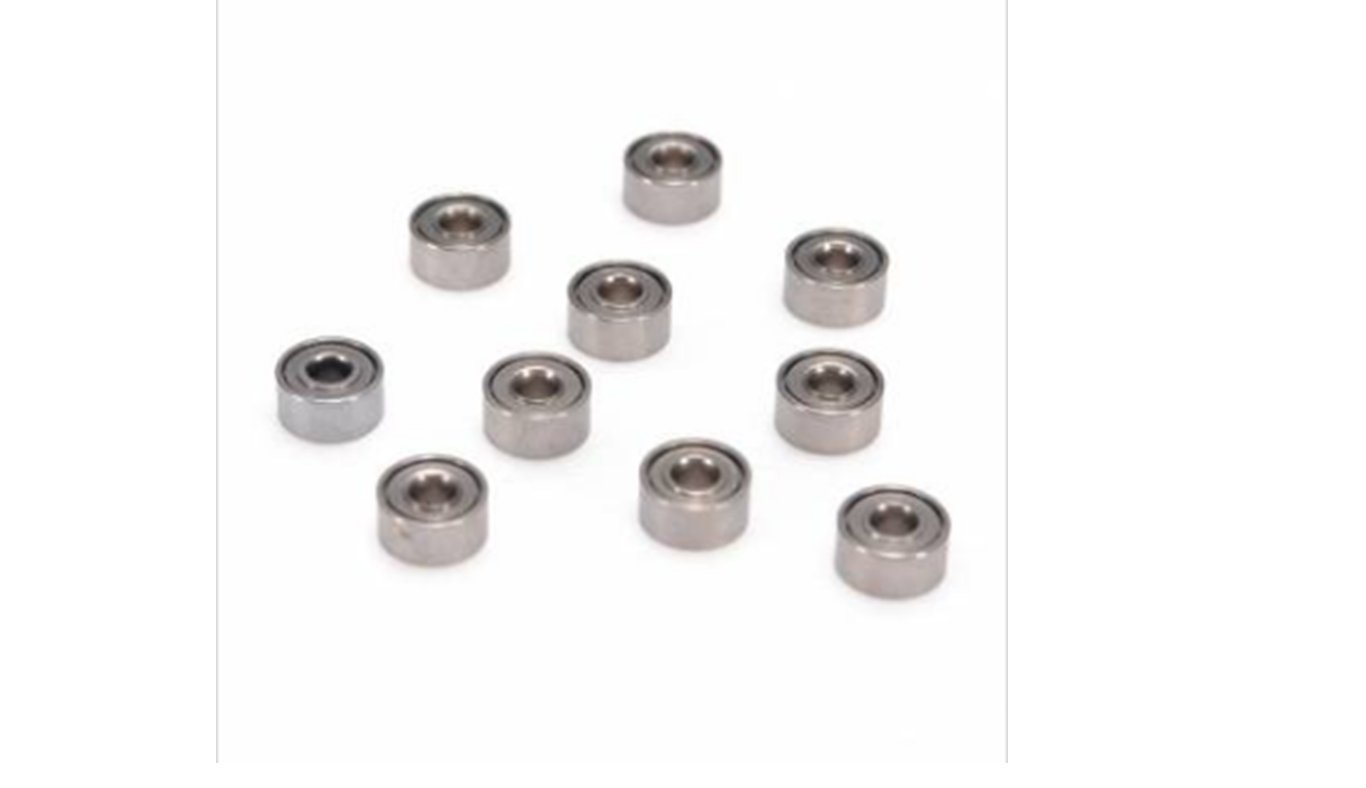 10pcs MR52ZZ Double Shielded Deep Groove Ball Miniature Bearings Bgcomputer