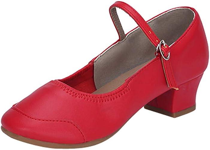 Ladies Prom Party Ballroom Latin Tango Jazz Samba Salsa Dance Heels Shoes US 5-9