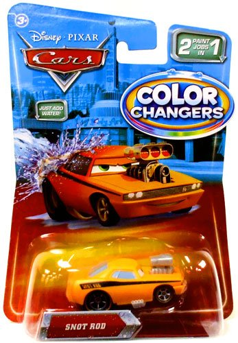 disney pixar cars movie 155 color changers snot rod