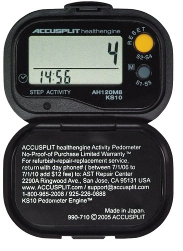 ACCUSPLIT Health Engine AH120M9 Pedometer/Step Counter