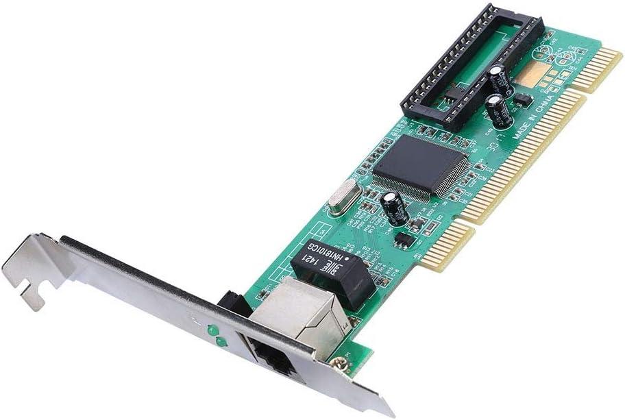 Scheda di Rete Gigabit PCIe PCI-E//PCI Express Scheda Adattatore PCI Express Ethernet 10//100//1000 Mbps convertitore Adattatore LAN Realtek 8169 RJ45 a Una Porta per PC Desktop
