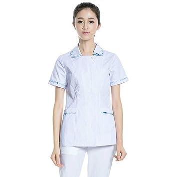 QZHE Ropa médica Enfermeras, Hospitales, Médicos, Uniformes, Dentistas, Enfermeras, Batas
