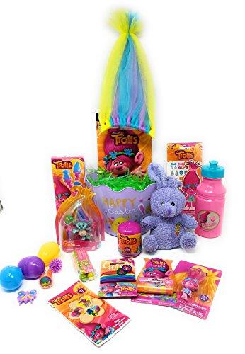 Harper Bucket - Trolls Activity Gift Basket Bucket Bundle- Harper