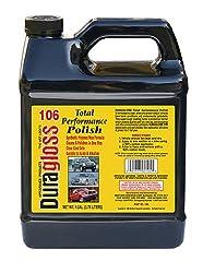 Duragloss 106 Automotive Total Performance Polish - 1 Gallon