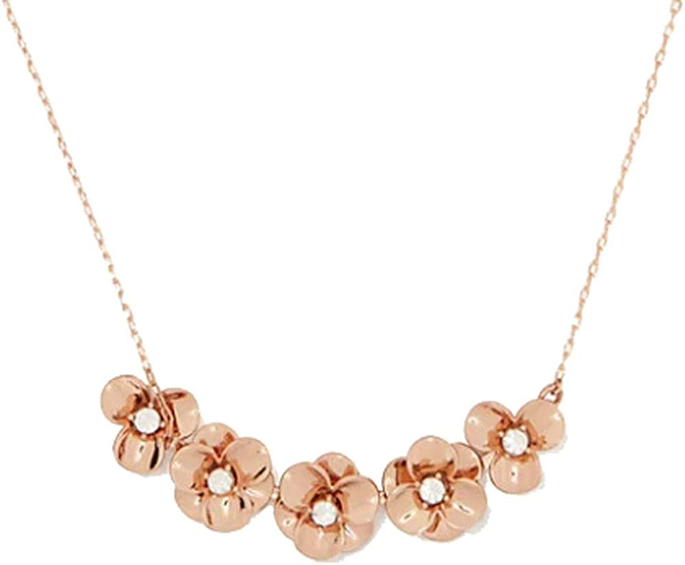 Kate Spade New York Shine on Flower Mini Necklace