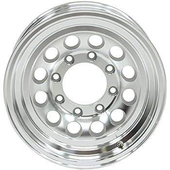 Amazon Com 16 Silver Mod Trailer Wheel 8 Lug 8x6 5 Bolt Circle