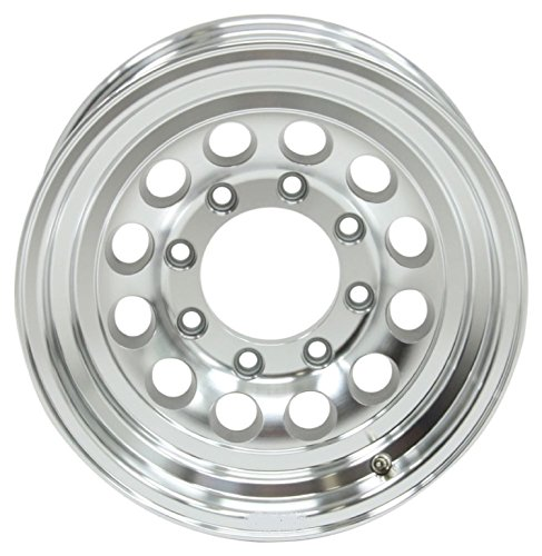 16 x 7 Aluminum Mod Trailer Wheel 8x6.50 Bolt Pattern, 3,960 lb Capacity HD (Heavy Duty) ()