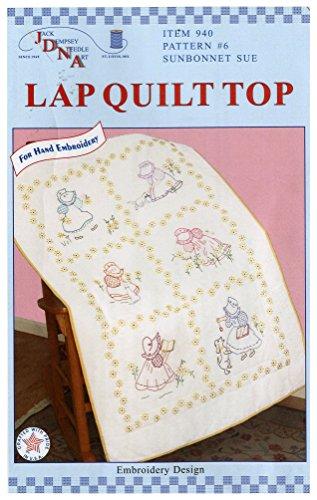 - Jack Dempsey Sunbonnet Sue Lap Quilt Top