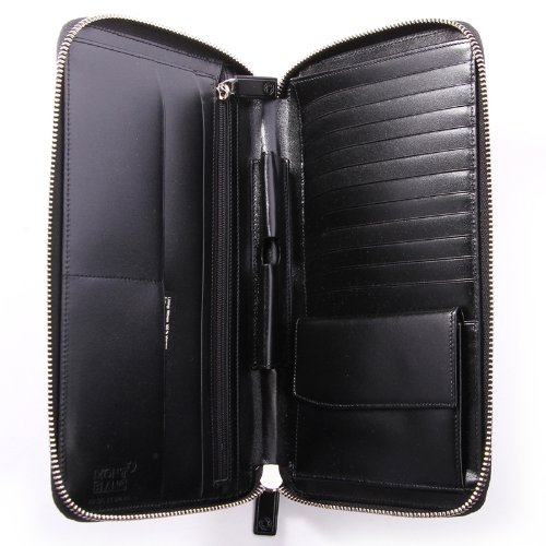 Mont Blanc Black Travel Currency Wallet (16352) by MONTBLANC (Image #5)