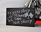 Nursery Decor, I Count Laps Not Sheep, Racing Decor, Childs Room Decor, Mothers Day Gift, Baby Shower Gift, Racing Nursery, Race Track, Nascar Gift