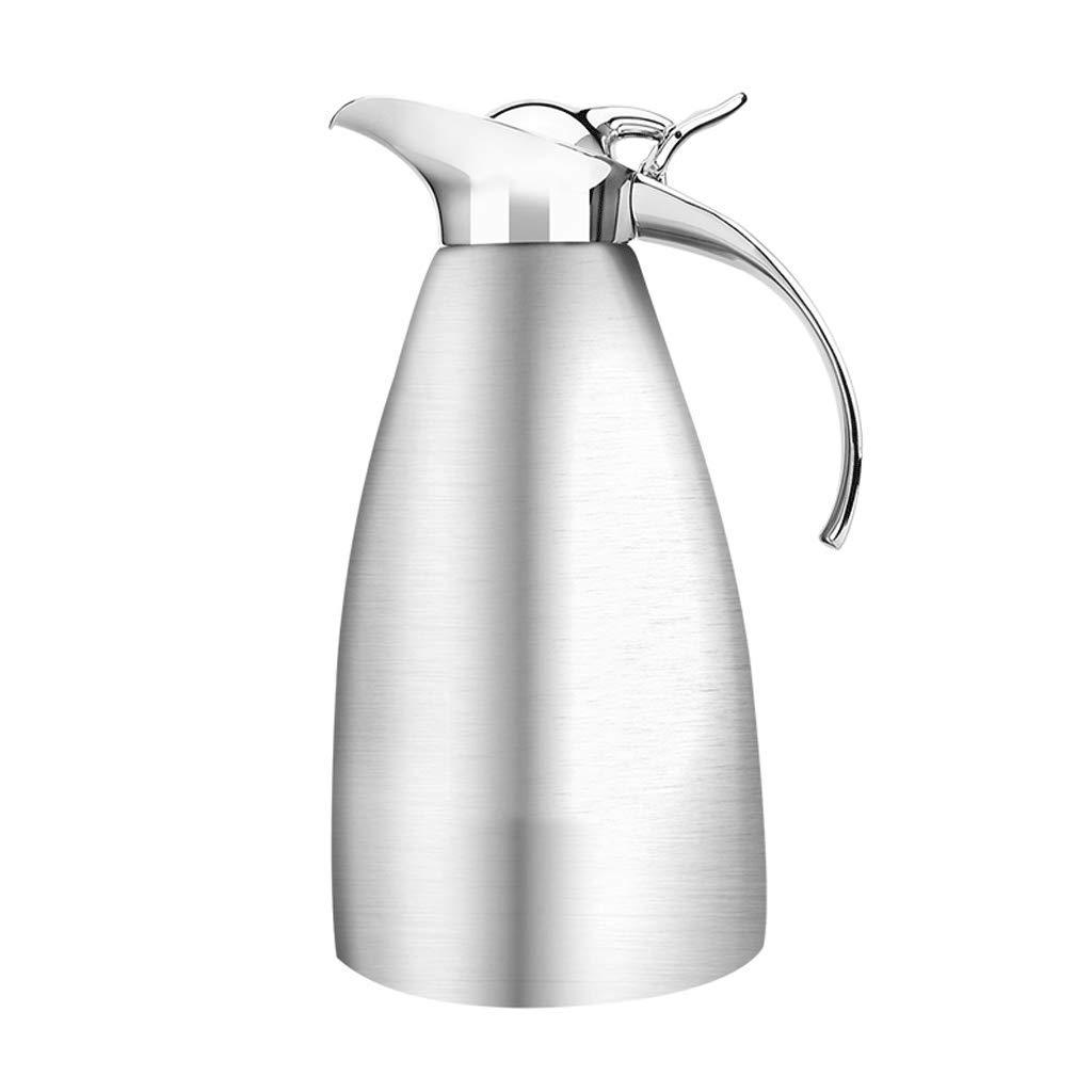 FYCZ 2L Vakuum Krug, 304 Edelstahl Doppelwand Vakuumisolierte Kaffeekanne Saft Milch Tee Isolierung 68Oz