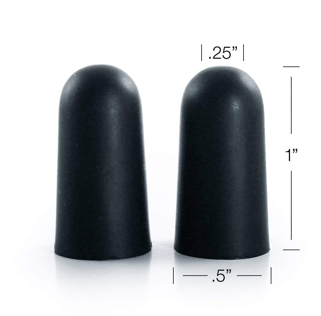 Black Noise Premium Ear Plugs | 33db NRR Noise Cancelling, Soft & Durable Ear Plugs for Concerts, Sleeping, Musicians, Motorcycles, Shooting, Loud Work Environments and Sports, Travel and Study - 100 by Black Noise                                                                                (Image #6)