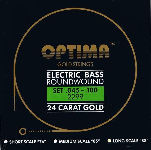 Optima 24K Gold Bass Strings ()