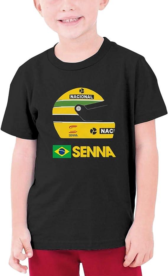 Ayrton Senna T-Shirt Ayrton Senna Tribute F1 Racing Adults /& Kids Tee Top