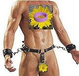 BFY Mens Harness Chastity Belt Sex Bondage Restraints Fetish Underwear