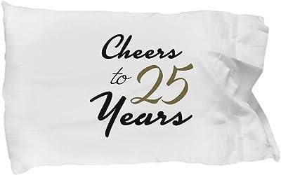 DesiDD 25th Birthday Pillowcase