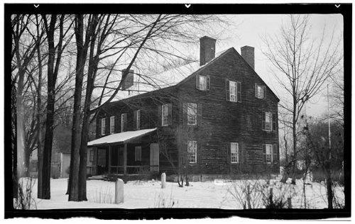 Photo: Isaac Parris House & Trading Post,Fort Plain,Montgomery County,NY - Plains Ny Shopping White