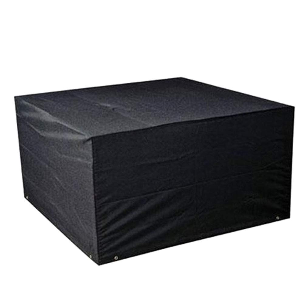 Hzjundasi Protectora Cubierta Impermeable RectangularJard/ín 106.29*70.86*35.03 Inch Funda para Muebles de Exterior,Cubierta Protectora para Barbacoa Sof/á Sillas de Exterior 100/%Impermeable y UV